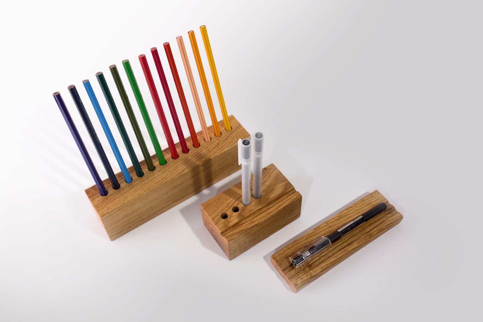 Ordnung am Arbeitsplatz, Stifte wiederfinden durch Stiftehalter von bellovillo